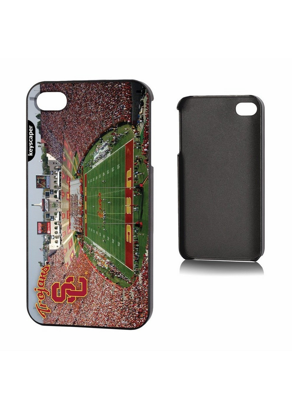 Ncaa Iphone 4 Case- Stadium Image - Usc Trojans SPI-KEYCUSCIP4SD