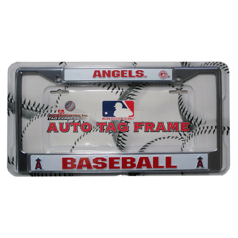 License Plate Chrome Frame - Los Angeles Angels of Anaheim - Peazz.com