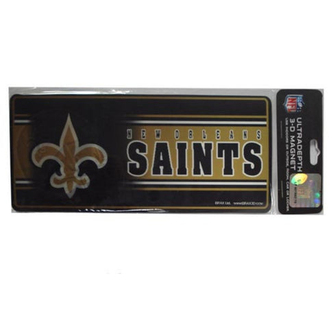 8'' 3D Magnet New Orleans Saints - Peazz.com