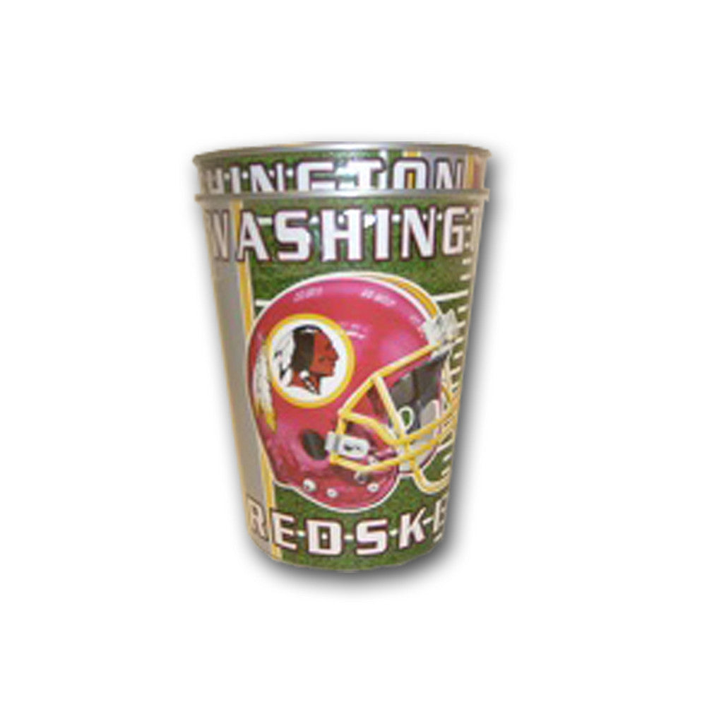 Majestic Plastic Cup 16-Ounce 2-Pack - Washington Redskins
