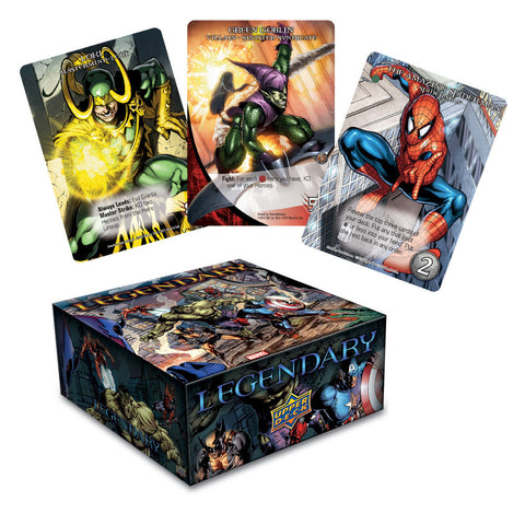 "Upper Deck 'Legendary"" Marvel Deck Building Game - Peazz.com"