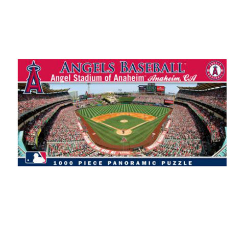1000 Piece Ballpark Puzzle - Los Angeles Angels - Peazz.com