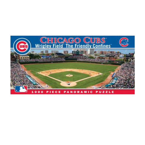 1000 Piece Ballpark Puzzle - Chicago Cubs - Peazz.com