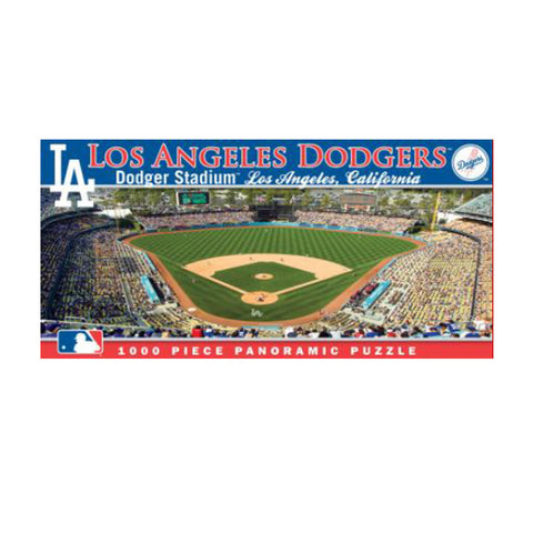 1000 Piece Ballpark Puzzle - Los Angeles Dodgers - Peazz.com