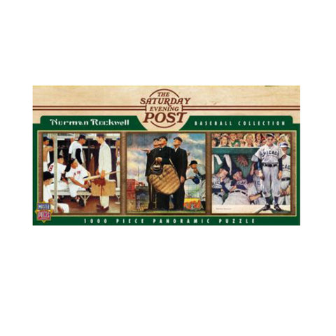 1000 Piece Ballpark Puzzle - Saturday Evening Post - Peazz.com
