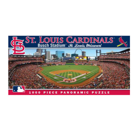 1000 Piece Ballpark Puzzle - Saint Louis Cardinals - Peazz.com
