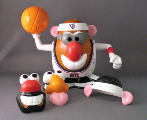 New Jersey Nets Mr. Potato Head - Peazz.com