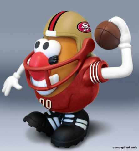 Mr. Potato Head NFL - San Francisco 49'Ers - Peazz.com