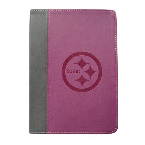Pink 5X7 Writing Journal - Pittsburgh Steelers - Peazz.com