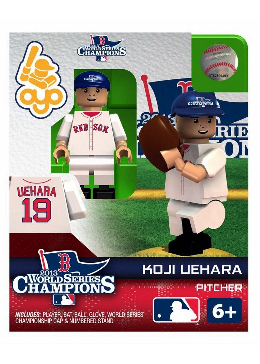 2013 World Series Champion OYO - Boston Red Sox Koji Uehara