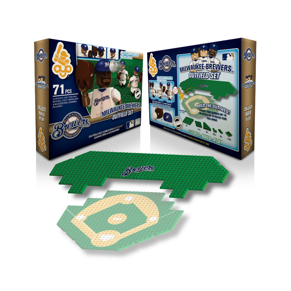 OYO MLB Outfield Set  - Milwaukee Brewers