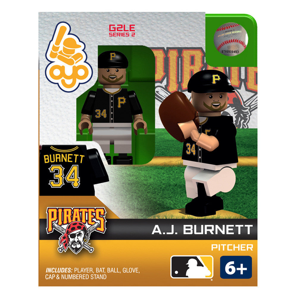 OYO Figure Pittsburgh Pirates Aj Burnett