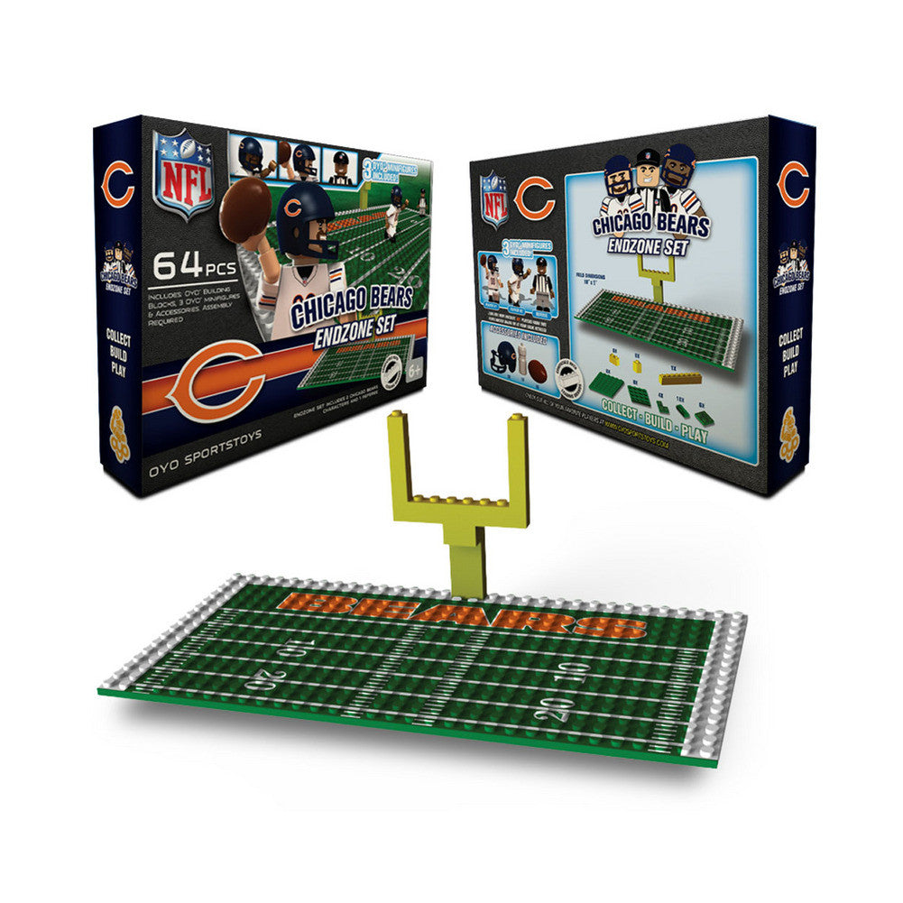 OYO NFL Endzone Set - Chicago Bears