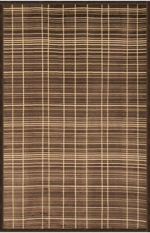 Abacasa 6061-8x10 Napa Shelbourne Chocolate/Ivory Area Rug - Peazz.com