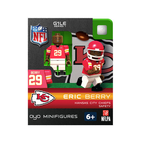 OYO NFL Figure - Kansas City Chiefs Eric Berry - Peazz.com