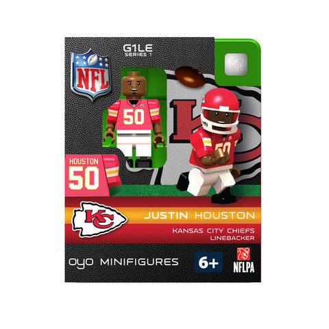 OYO NFL Figure - Kansas City Chiefs Justin Houston - Peazz.com