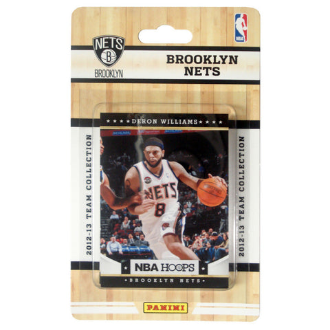 2012 Panini NBA Hoops Team Set - Brooklyn Nets - Peazz.com