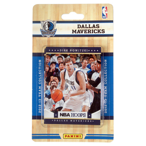 2012 Panini NBA Hoops Team Set - Dallas Mavericks - Peazz.com
