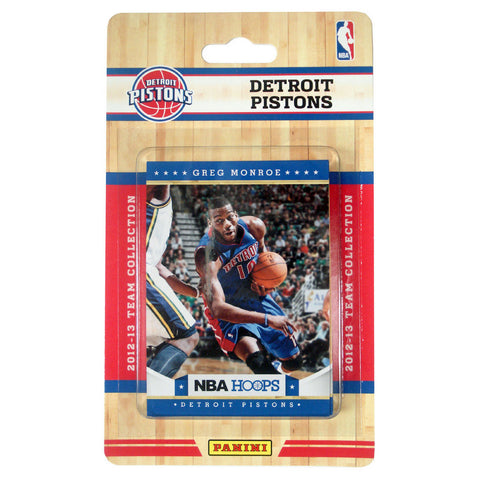 2012 Panini NBA Hoops Team Set - Detroit Pistons - Peazz.com