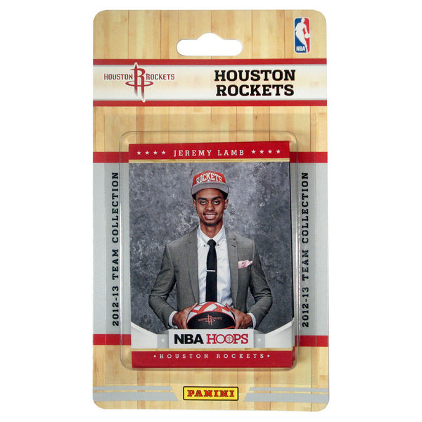 Rockets All Time Roster: 2012 Panini NBA Hoops Team Set