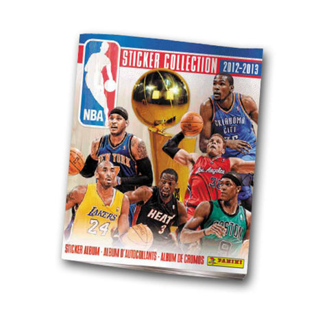 2012/13 Panini NBA Sticker Album Individual - Peazz.com