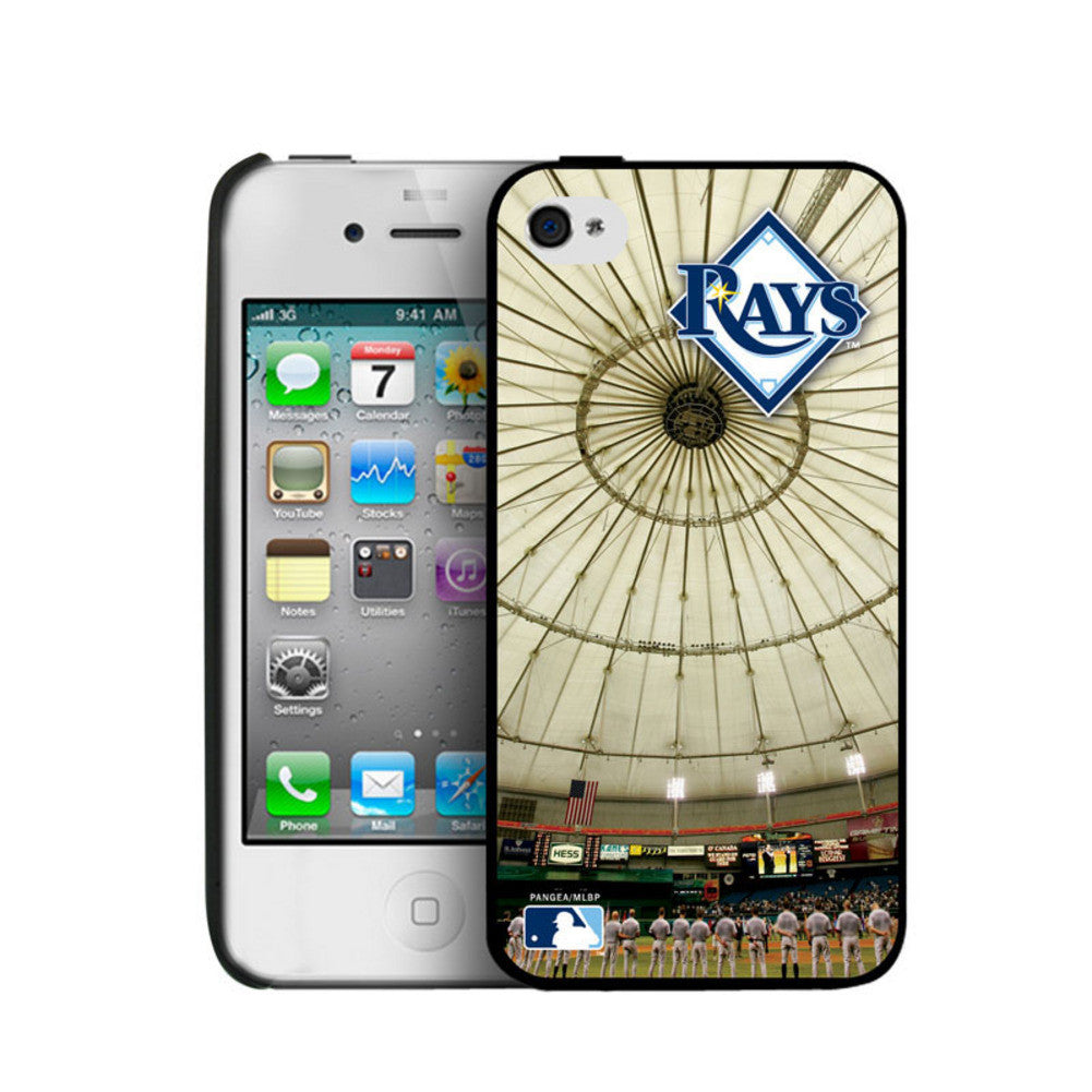 Iphone 4/4S Hard Cover Case - Tampa Bay Rays SPI-PANGBBTAMIP4BP1