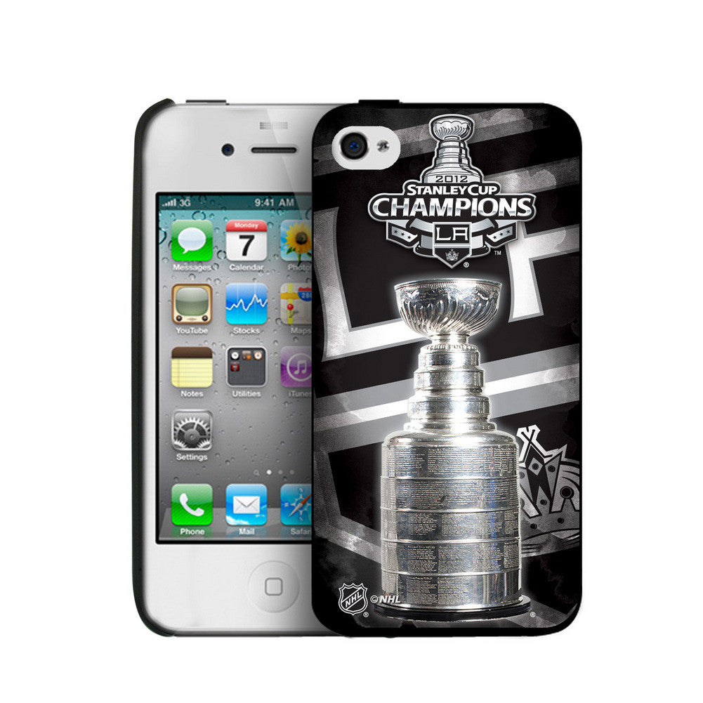 Iphone 4/4S Hard Cover Case - Los Angeles Kings 2012 Stanley Cup Champs (If Win)