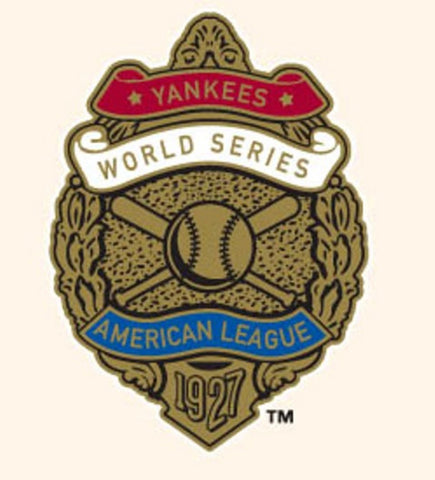 MLB World Series Patch - 1927 Yankees - Peazz.com