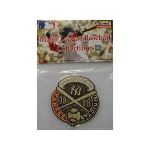 1938 Yankees World Series Patch - Peazz.com