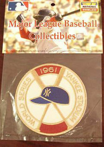 MLB World Series Patch - 1961 Yankees - Peazz.com