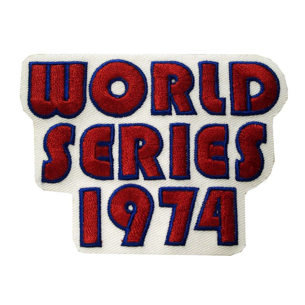 MLB Logo Patch - A's 1974 World Series