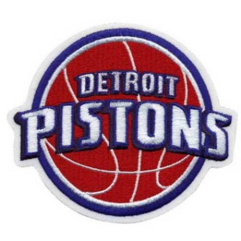 NBA Logo Patch - Detroit Pistons - Peazz.com