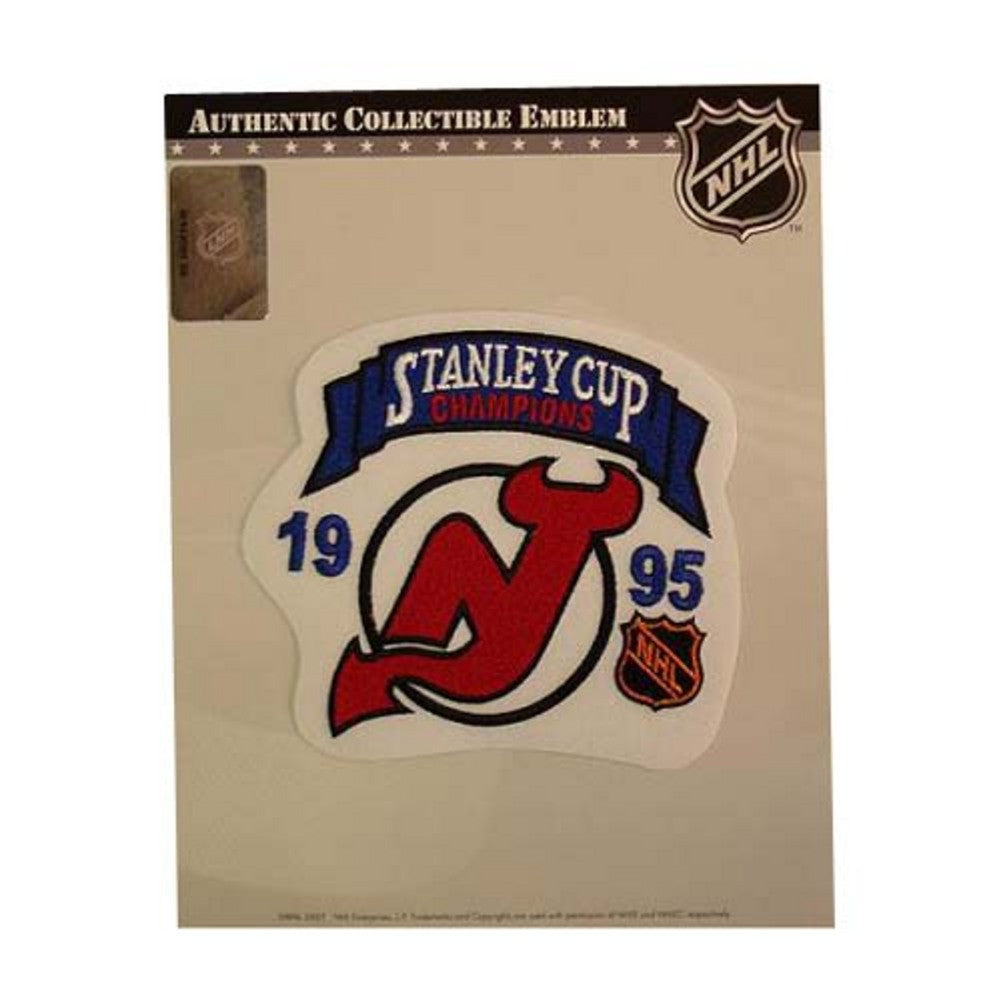NHL Stanley Cup Champions Patch - New Jersey Devils 1995