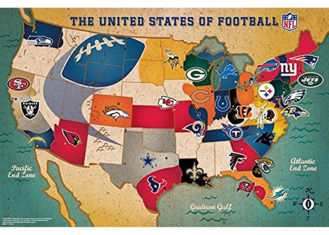 NFL USA Large Puzzle - Peazz.com