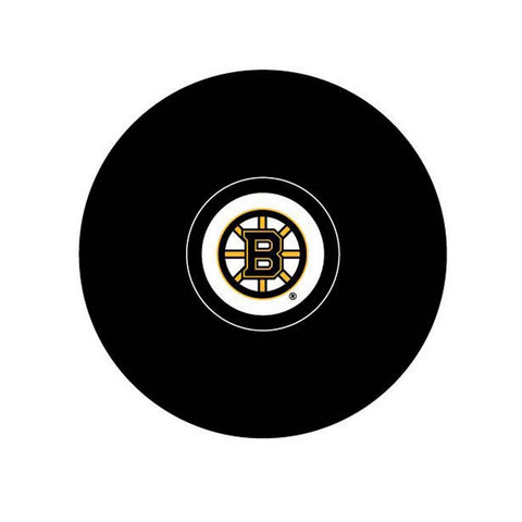Team Logo Hockey Puck - Boston Bruins - Peazz.com