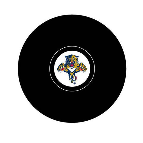 Team Logo Hockey Puck - Florida Panthers - Peazz.com