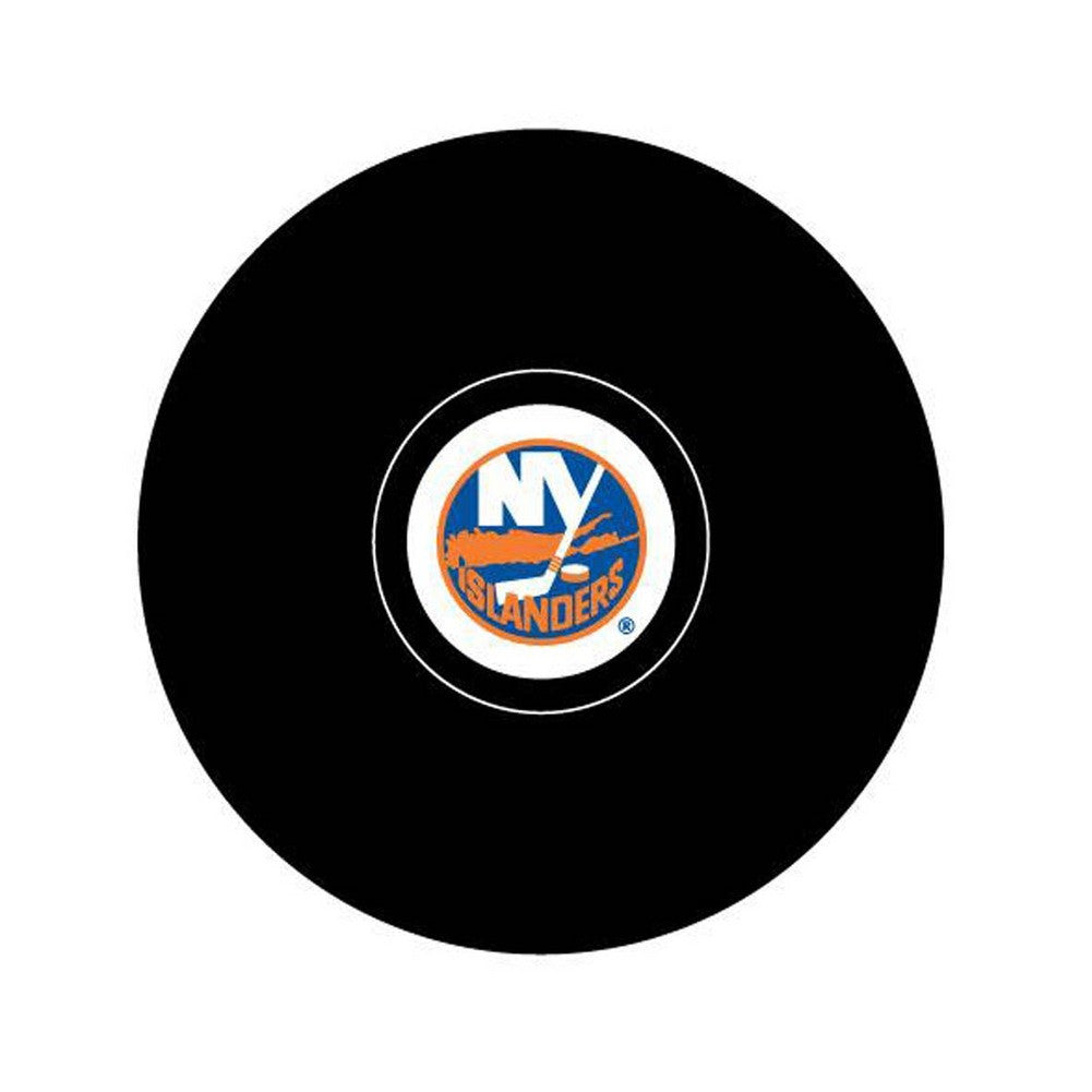 Team Logo Hockey Puck -  New York Islander