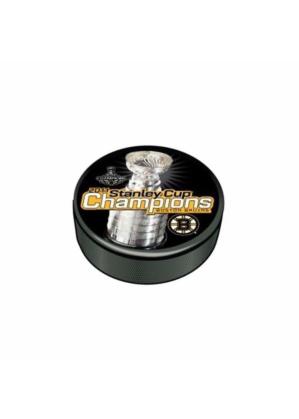 2011 Stanley Cup Champion Souvenir Puck Boston Bruins