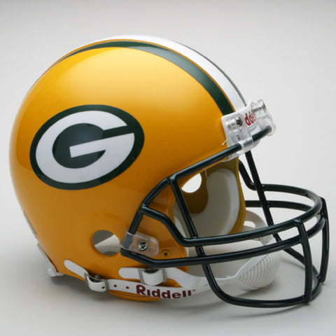 Riddell Pro Line Authentic NFL Helmet - Packers - Peazz.com
