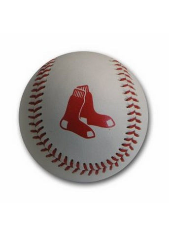 Blank Leather MLB Team Logo Baseballs - Boston Red Sox - Peazz.com