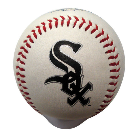 Blank Leather MLB Team Logo Baseballs - Chicago White Sox - Peazz.com