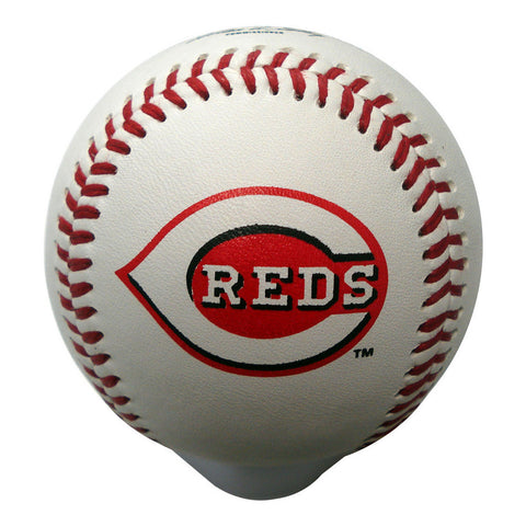 Blank Leather MLB Team Logo Baseballs - Cincinnati Reds - Peazz.com