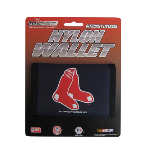 Nylon MLB Wallets - Boston Red Sox - Peazz.com