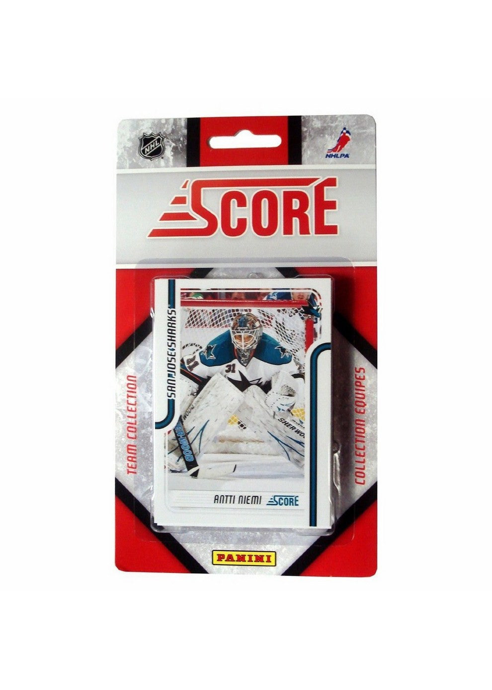 2011/12 Score NHL Team Set - San Jose Sharks
