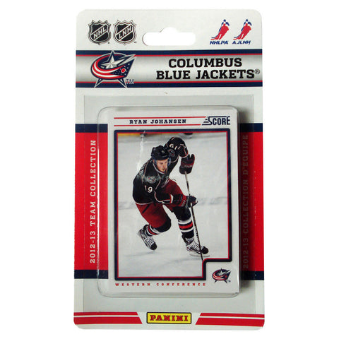 2012/13 Score NHL Team Set - Columbus Blue Jackets - Peazz.com
