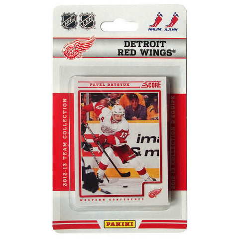 2012/13 Score NHL Team Set - Detroit Red Wings - Peazz.com