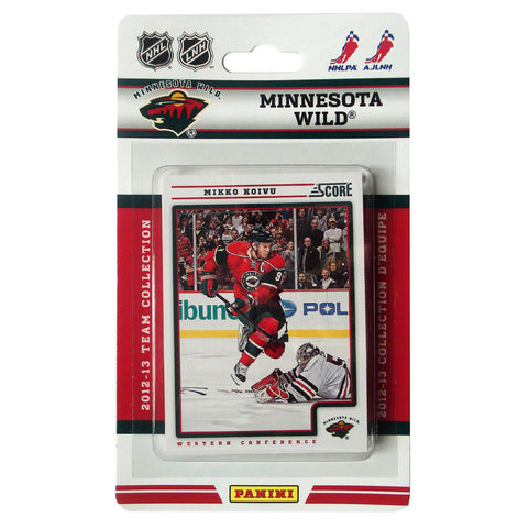 2012/13 Score NHL Team Set - Minnesota Wild - Peazz.com