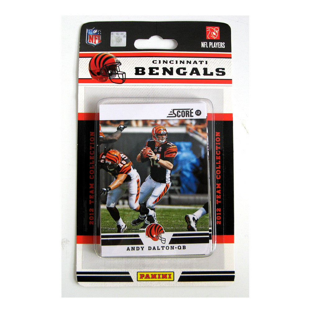 2012 Score NFL Team Set - Cincinnati Bengals