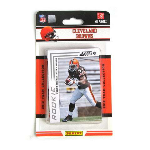 2012 Score NFL Team Set - Cleveland Browns - Peazz.com