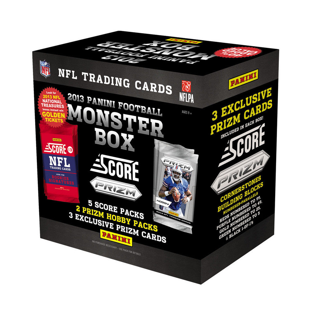 2013 Score NFL Monster Box